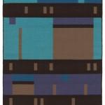 Piet - handwoven wool rug by Nancy Kennedy
